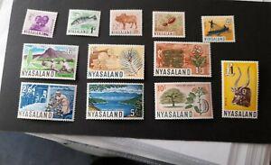 Nyasaland stamps Mounted Mint