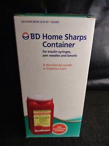 BD Home Sharps Container NIB Diabetic FREE SHIP