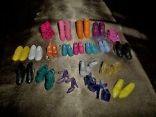 Barbie Shoes Lot Mix shape and color.