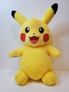 "Build a Bear Workshop Pokemon Pikachu Plush Stuffed Animal 16"" 👀 VERY NICE"