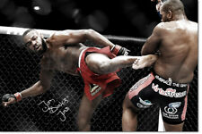 Jon Jones Foto Impresión Póster firmado pre - 12 X 8 in (approx. 20.32 cm) - Bones Jones