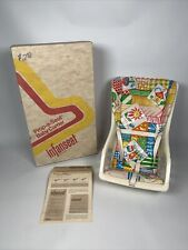 Vtg 1970s Infanseat Baby Carrier Seat Questor Instructions Box Prop A Seat 1973