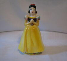 "Vintage Wales 1960 Walt Disney Snow White Ceramic 5"" Tall Figurine Japan (1A)"