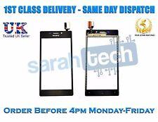 Sony Xperia M2 d2303 d2305 d2306 Frontal Pantalla Touch Digitalizador Cristal Lente Negro
