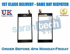 Sony Xperia M2 D2303 D2305 D2306 Front Screen Touch Digitizer Glass Lens Black