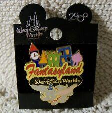 Wdw Disney Pin ~ Fantasyland ~ Dumbo Flying ~ 2000