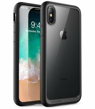 Apple iPhone X 10 Case Slim Fit Complete Bumper Cover Clear Protector Tough Grip