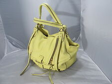 KOOBA JONNIE LEMON YELLOW TOTE HANDBAG