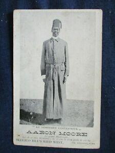 1900s Italy Aaron Moore Buffalo Bill's Wild West Show Performer Postcard