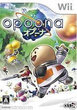 Used Wii Opoona  JAPAN JP JAPANESE JAPONAIS IMPORT