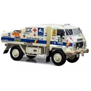 Pegaso 7222 Rally Raid Dakar 1986 1:43 IXO SALVAT DIECAST CAMION TRUCK