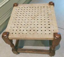 Vintage string top stool