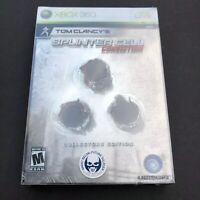 Tom Clancy's Splinter Cell: Conviction Collector's Edition Microsoft Xbox 360