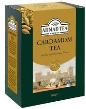 AHMAD TEA LONDON Cardamon Tea 500g Loose Leaf Cardamom Tea Excellent Quality