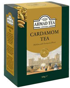 AHMAD TEA LONDON Cardamom Tea 500g Loose Leaf Cardamom Tea Excellent Quality