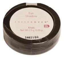 Sheer Cover Eyeshadow Compact Khaki 2.5g 0.09oz New & Sealed Eye Shadow Mirror