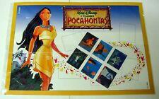Walt Disney - POCAHONTAS - Raccoglitore  con 6 francobolli Numerato