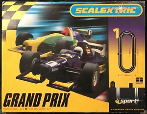 Scalextric Grand Prix 1. Boxed Set. Never Used Or Out Of Box Near Mint. Working.