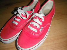 Rosa Vans zapatos de lona 5
