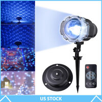 Laser Fairy Light Projection Projector Christmas Outdoor Landscape LED Lamp US