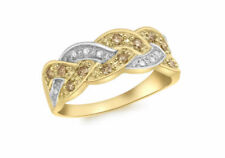 Champagne Diamond Yellow Gold Fine Rings