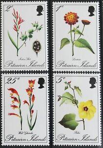 Pitcairn – 1970 Flowers Set (4) – UMM (MNH)  (R8)