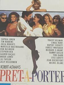 Pret-A-Porter Sophia Loren Tim Robbins Julia Roberts DVD
