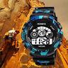 Fashion Men's Digital Sports Watch LED Screen Military Waterproof Wrist Watch
