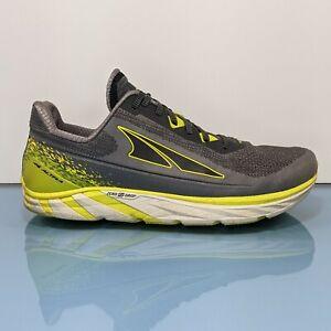 ALTRA Torin Plush Quantic Mens 12 Gray Zero Drop Plush Running Shoes Sneakers