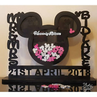 Personalised drop box for Wedding Disney theme,Wedding decor, mr and mrs, events