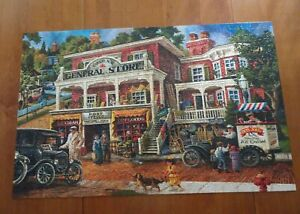 "SunsOut ""Fannie Mae's General Store"" 1000 Piece Jigsaw Puzzle"