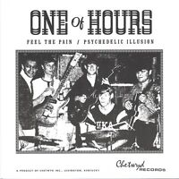 """ONE OF HOURS Feel The Pain / Psychedelic Illusion vinyl 7"""" NEW garage punk psych"""