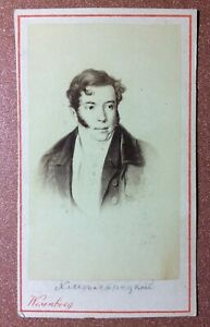 Tsarist Russia WESENBERG CDV Photo 1890 KHMELNITSKY Russian playwright, governor