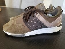 New Balance Men's 247 Luxe Shoes Tan with Grey & Grey size 11