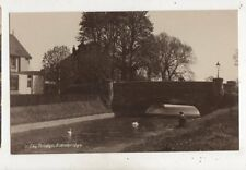The Bridge Edenbridge Kent Vintage RP Postcard