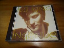 K.D LANG  : INGENUE CD *BARGAIN PRICE*