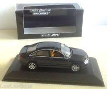 Minichamps ref 430 017100 Audi A6 saloon 1997 blue metallic 1/43ème