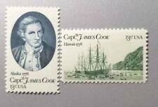 US Stamps scott #1732-33 1978 13c Captain Cook set of 2 stamps MNH