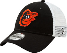 Baltimore Orioles MLB Team Trucker New Era 940 Snapback Cap Hat Mesh Back Men's