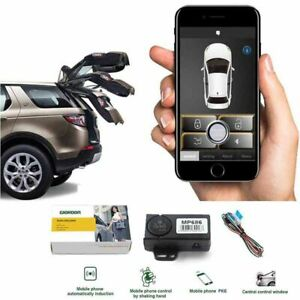 Car Alarm Security Systems Automatic Car Door Lock Trunk Opening Keyless APP