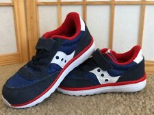 NEW Saucony Boys Baby Toddler Jazz Crib Sneaker Shoe Blue Infant Size 10