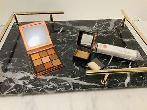Huda Eyeshadow Palette Topaz Obsessions + Benefit Dallas Mini + Free Gift