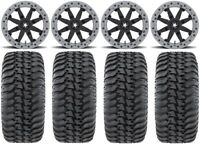 "MSA Lok2 Beadlock 14"" UTV Wheels 28"" Regulator Tires Polaris RZR Turbo S / RS1"