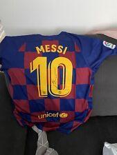 More details for lionel messi signed shirt with aftal coa