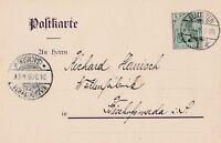 Postkarte von Bautzen nach Bischofswerda aus dem Jahr 1908 sehr interessant