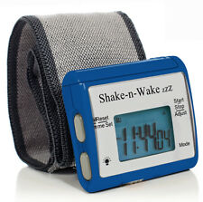 Tech Tools Shake-n-Wake Silent Vibrating Alarm Wrist Watch (Blue) TPI-107BLU