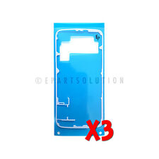 3X Samsung Galaxy S6 G920 Back Cover Battery Door Tape Adhesive Sticker Only USA