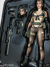 "Play Arts Kai Metal Gear Solid V The Phantom Pain Quiet 10"" PVC Action Figure CN"