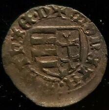 Matthias Corvinus -Matei Corvin 1458-1490 AD Hunedoara-Transylvania.Copper Denar