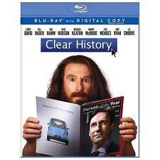 Clear History (Blu-ray Disc, 2013, Includes Digital Copy)